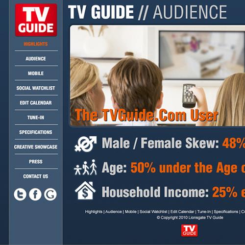 TVGuide.com Media Kit